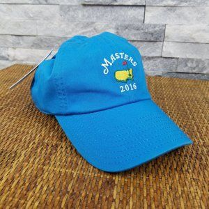 2016 Masters Golf Blue Baseball Hat Cap New